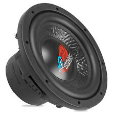 Lanzar DCT84D Dc Series 8 Inch Sub Dual 4 Ohm 400W Rms Rubber Surround Subwoofer