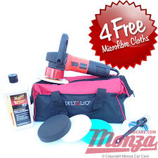 DAS6 Pro Dual Action Machine Car Polisher & Meguiars Starter Polishing Kit