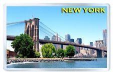NEW YORK BROOKLYN BRIDGE MOD5 FRIDGE MAGNET SOUVENIR IMAN NEVERA