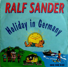 "7"" 1986 RARE ! RALF SANDER : Holiday in Germany VG+++"