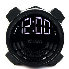 Digital Dual Alarm Clock FM Radio USB Charger Sleep Timer Snooze function Best
