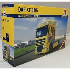 ITALERI 1:24 KIT CAMION TRUCK DAF XF 105 LUNGHEZZA 24,5 CM CON DECALS  ART 3842