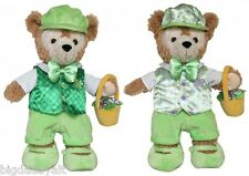 """New Disney Parks Duffy Bear 17"""" Reversible St Patrick Day Easter Costume Outfit"""