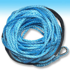 10mm x 40m BLUE DYNEEMA SK-75 SYNTHETIC WINCH ROPE CABLE UHMWPE 4WD Recovery