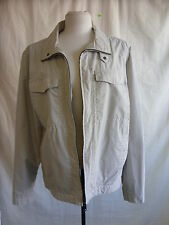 "Mens Coat - Autograph M&S, size L, chest 41-43"", stone colour, used - 0322"