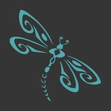 Turquoise Blue Dragonfly - Die Cut Vinyl Window Decal/Sticker for Car/Truck