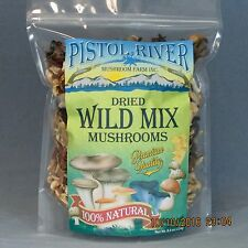 Wild Mix Mushrooms-Dried First Quality 8oz FREE SHIPPING