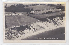 Postcard Whitecliff Bay, Camping Site, Isle of Wight. Bembridge. Bay Series ?