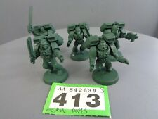 WARHAMMER SPACE MARINE ASSAULT SQUAD 413