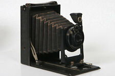9x12 Folding Plate Camera Rapid Aplanat 135mm f7.7 Lens