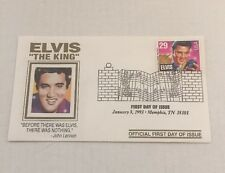 ELVIS PRESLEY FIRST DAY OF ISSUE STAMP RCA LIMITED EDITION ENVELOPE JAN 8, 93
