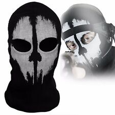 Call Of Duty Balaclava Ghost Cosplay Ski Cycling Skull Full Face Mask Hood US