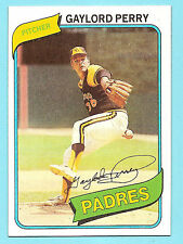 1980 Topps Gaylord Perry San Diego Padres #280 (KCR)
