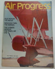 Air Progress Magazine The Me109 New Bush Twin October 1969 FAL 060115R