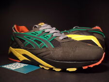 Asics GEL-KAYANO LYTE TRAINER CHARCOAL GREY YELLOW GREEN RED PACKER SHOES 10.5