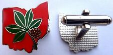 OSU Ohio State Buckeyes Football Rose Bowl Champions Cuff Links Set CUFFLINKS