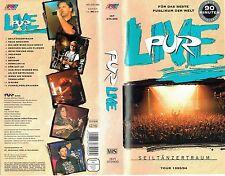(VHS) Pur - Live Seiltänzertraum Tour 1993/94 - Lena, Indianer, Neue Brücken
