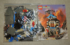 Lego Set 3052, Ninja's Fire Fortress, Complete w/ Minifigures and Manual