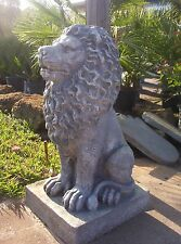 Fiberglass/Latex Concrete Mold- Large Classic Lion