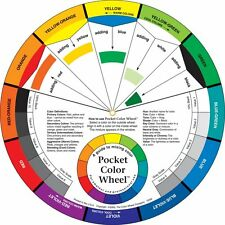 Pocket Colour Wheel For Artists & Kids - Paint Mixing Guide Visual Aid 13cm