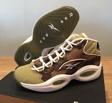 REEBOK x BAPE x Mita Question Mid 1rst CAMO Size 8.5 Men's ALLEN IVERSON LIMITED
