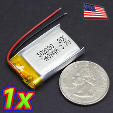3.7V 240mAh - 1S - Lithium Ion Polymer Rechargeable Battery for Small RC Drones