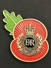 Royal Engineers (RE) Remembrance Poppy Pin