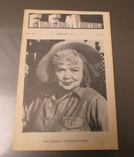1972 FILM FAN MONTHLY #128 FN- Iris Adrian in Scandalous John