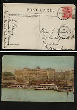 New South Wales  color post card to  Canada  1906      KEL0204