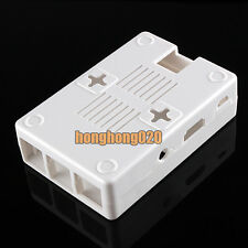 White ABS Closed Case Box Enclosure Security For Computer Raspberry Pi Model B+