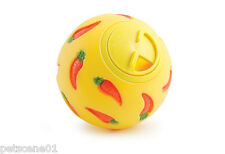 ANCOL TREAT BALL TOY SMALL ANIMALS RABBIT GUINEA PIG RATS adjustable opening