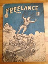 Freelance # 11 , 1944 World War 2 Cover Double AA Comics ( Canadian Edition )