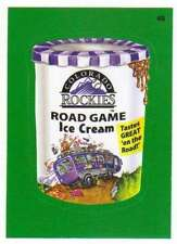 2016 Topps MLB Wacky Packages Grass Border #48 Rockies Road Game Ice Cream
