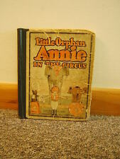Little Orphan Annie in the Circus 1927 Harold Gray Illustrated Free Shipping