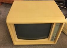 Sysdyne Model MD 12A Monitor Vintage Video Display Amber Monochrome - As Is
