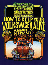 """EMPI VW BUG """"HOW TO KEEP YOUR VW ALIVE""""  IDIOT BOOK   11-0990"""