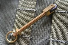 Solid Brass Mini Camping Survival Fire Starter Wheel Twin Pack