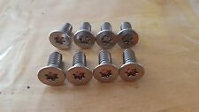 Correct New Stainless Jeep CJ7 Scrambler Tailgate Hinge Torx Bolts & Driver OEM