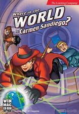 Where in the World is Carmen Sandiego? for PC & MAC SEALED NEW BOX
