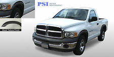 02-08 Dodge RAM 1500 RUGGED (Street) Style Fender Flares TEXTURED FINISH 4 pcs