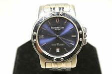 KENNETH COLE KC -3032 STAINLESS STEEL BLUE FACE WATCH