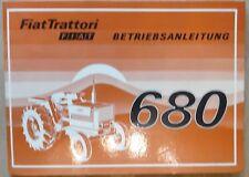 Fiat Trattori Schlepper 680 Betriebsanleitung
