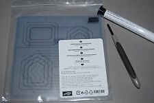 Stampin' Up! Retired Updated Essentials Paper Piercing Pack Templates & Tool NIP