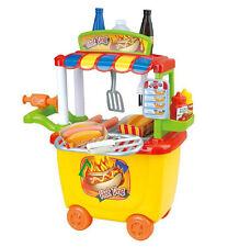 Playgo Hot Dog  Verkaufsstand Lebensmittel Spielbox für Spielküche 30 tlg 227324