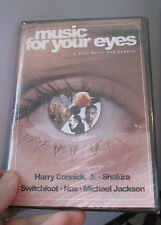 Music For Your Eyes DVD NEW SEALED Sony Music Sampler H Connick Michael Jackson