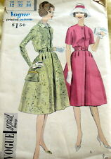LOVELY VTG 1950s DRESS VOGUE SPECIAL DESIGN Sewing Pattern 12/32