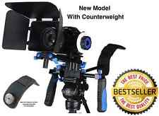 NEW! Morros DSLR Rig Movie Kit Shoulder Mount Camera Rig Follow Focus Matte Box