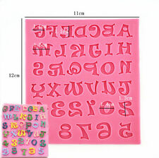 Number Letter Cake Decoration Baking Tools Biscuit Chocolate Candy Fondant Molds