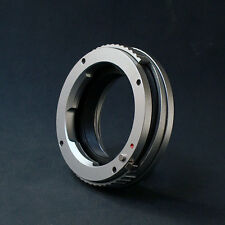 LM-NEX Leica M Voigtlander Lens to Sony E Mount Macro Brass Close Focus Adapter