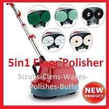 NEW 5 in1 Floor Polisher Buffing Machine Carpet & Hard Surface Bonnet Machine*